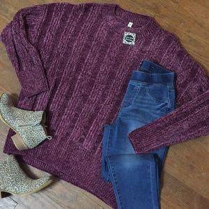 Sweaters - NWT Chenille Boyfriend Fit Sweater